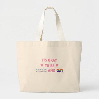 Bolsa Tote Grande É aprovado ser o transporte e o gay (v1)