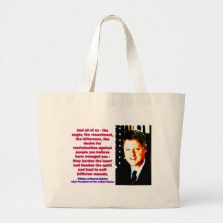 Bolsa Tote Grande E todos nós - Bill Clinton