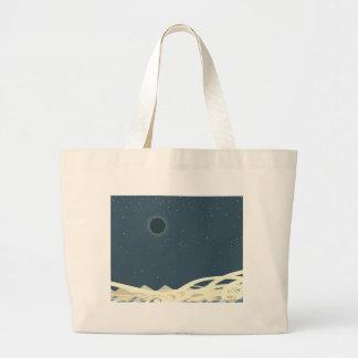 """Bolsa Tote Grande Eclipse da arte de Sun com os """"cobras """""""