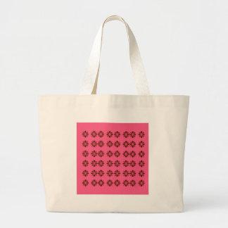 Bolsa Tote Grande Elementos do design no rosa