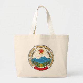 Bolsa Tote Grande Emblema da república socialista soviética arménia