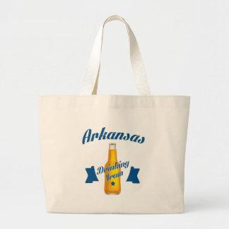 Bolsa Tote Grande Equipe do bebendo de Arkansas
