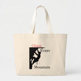 Bolsa Tote Grande Escale cada montanha