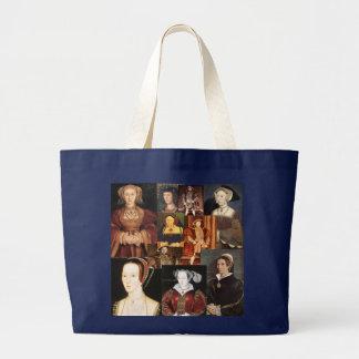 Bolsa Tote Grande Esposas de Henry 8o e suas seis