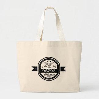 Bolsa Tote Grande Estabelecido em 96792 Waianae
