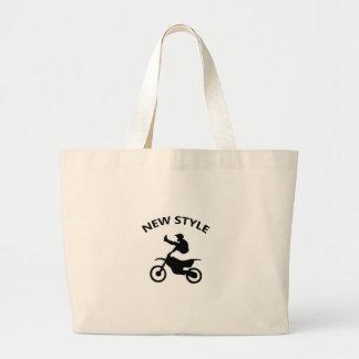 Bolsa Tote Grande Estilo novo da bicicleta