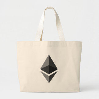 Bolsa Tote Grande Ethereum - Cryptocurrency PAC super