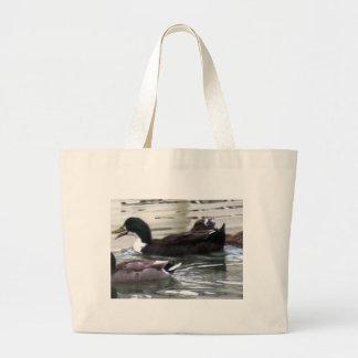 Bolsa Tote Grande Eu amo patos