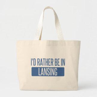 Bolsa Tote Grande Eu preferencialmente estaria em Lansing