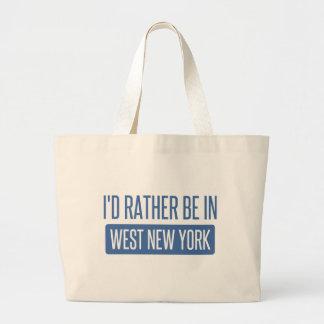 Bolsa Tote Grande Eu preferencialmente estaria em New York ocidental