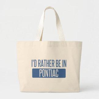 Bolsa Tote Grande Eu preferencialmente estaria em Pontiac