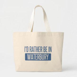 Bolsa Tote Grande Eu preferencialmente estaria em Waterbury