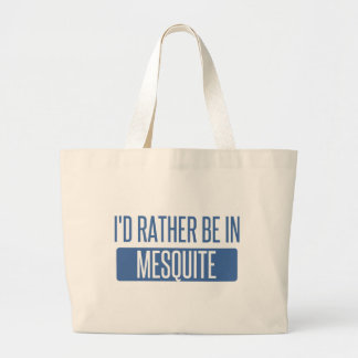Bolsa Tote Grande Eu preferencialmente estaria no Mesquite