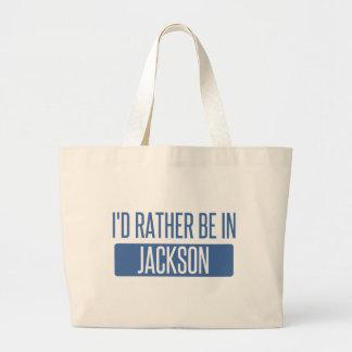 Bolsa Tote Grande Eu preferencialmente estaria no MS de Jackson