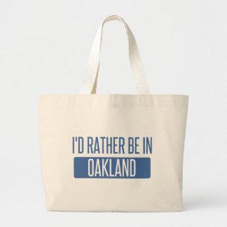 Bolsa Tote Grande Eu preferencialmente estaria no parque de Oakland