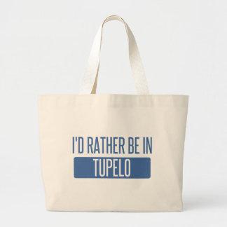 Bolsa Tote Grande Eu preferencialmente estaria no Tupelo