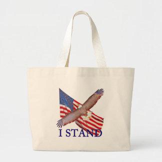 Bolsa Tote Grande eu represento América