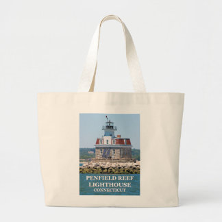 Bolsa Tote Grande Farol do recife de Penfield, sacola de Connecticut