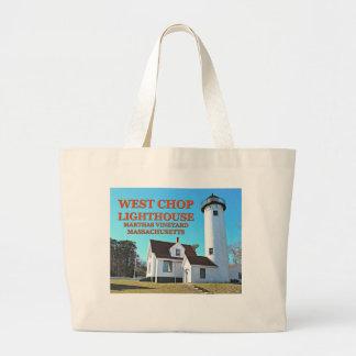 Bolsa Tote Grande Farol ocidental da costeleta, sacola das MÃES do