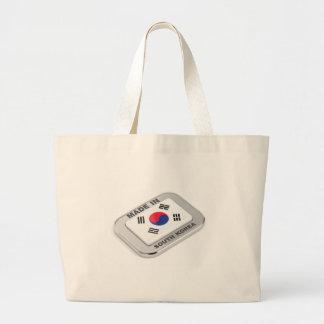 Bolsa Tote Grande Feito em Coreia do Sul