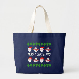 Bolsa Tote Grande Feliz Natal