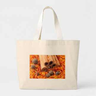Bolsa Tote Grande Fim-acima da canela, do peppercorn e do açafrão