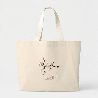 Bolsa Tote Grande Flor 2 de Tony Fernandes Sakura