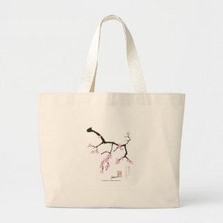 Bolsa Tote Grande Flor 3 de Tony Fernandes Sakura