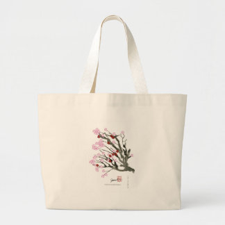 Bolsa Tote Grande flor de cerejeira 11 Tony Fernandes