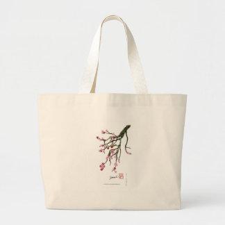 Bolsa Tote Grande flor de cerejeira 12 Tony Fernandes