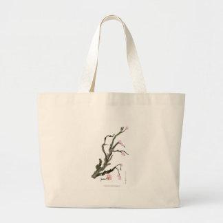 Bolsa Tote Grande Flor de cerejeira 15 Tony Fernandes