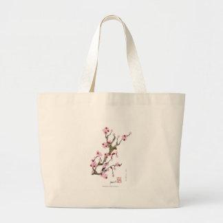 Bolsa Tote Grande Flor de cerejeira 16 Tony Fernandes