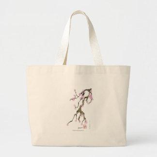 Bolsa Tote Grande Flor de cerejeira 17 Tony Fernandes