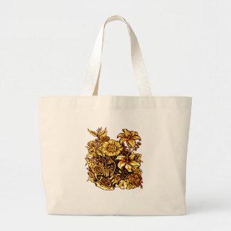 Bolsa Tote Grande Flores 3