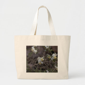 Bolsa Tote Grande Flores da alegria do viajante (brachiata do