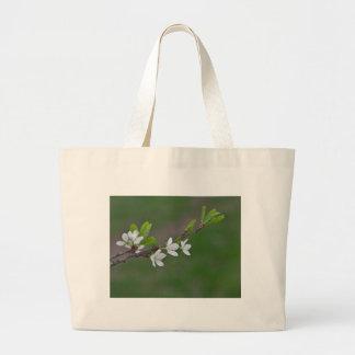 Bolsa Tote Grande Flores da árvore de cereja