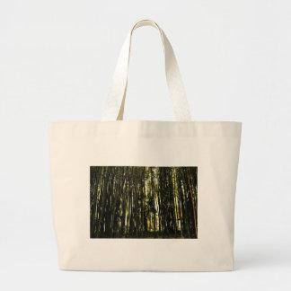 Bolsa Tote Grande Floresta de bambu