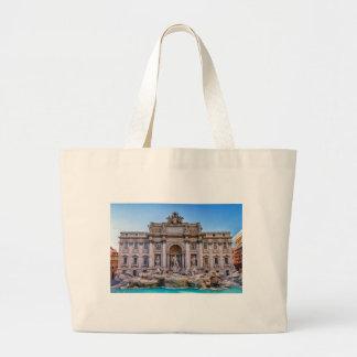 Bolsa Tote Grande Fonte do Trevi, Roma, Italia