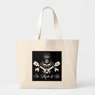 Bolsa Tote Grande Freemason-Widows-Sons-Masonic-Hotrod-Logo-20160407