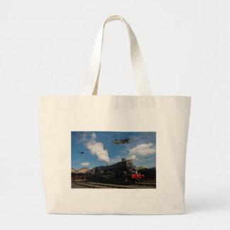 Bolsa Tote Grande Furacões e trem do vapor