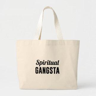 Bolsa Tote Grande Gangsta espiritual