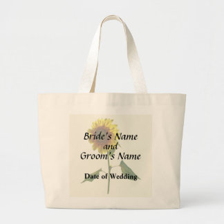 Bolsa Tote Grande Girassol que está produtos altos do casamento