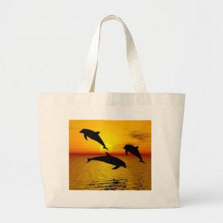 Bolsa Tote Grande golfinho