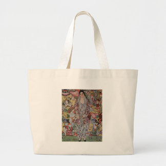 Bolsa Tote Grande Gustavo Klimt - arte da cerveja de Fredericke