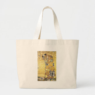 Bolsa Tote Grande Gustavo Klimt - o abraço - trabalhos de arte