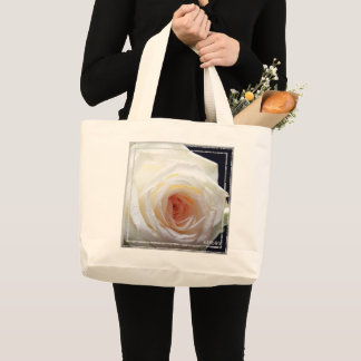 Bolsa Tote Grande HAMbWG - sacola - rosa branco
