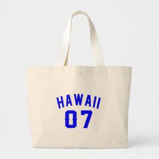 Bolsa Tote Grande Havaí 07 designs do aniversário