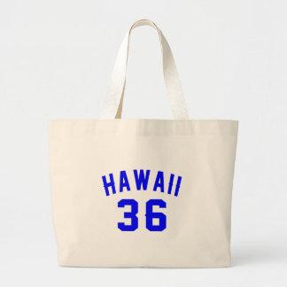 Bolsa Tote Grande Havaí 36 designs do aniversário