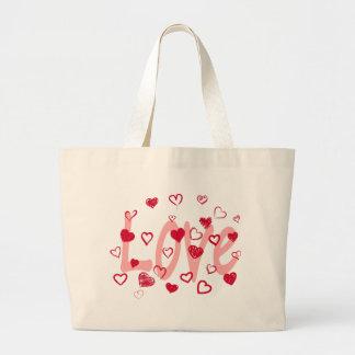 Bolsa Tote Grande hearts2