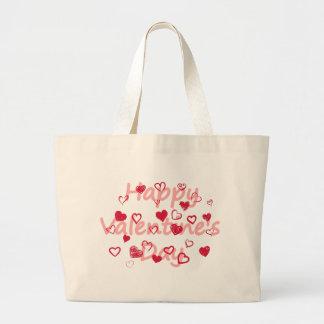 Bolsa Tote Grande hearts3